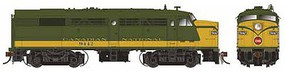 Rapido MLW FA-2 - Standard DC Canadian National #9456 (As-Delivered, green, yellow)