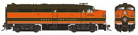 Rapido Alco FPA-2 Standard DC Great Northern #277B (Pullman Green, Omaha Orange)