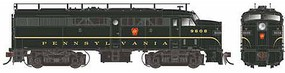 Rapido Alco FA-2 - Standard DC Pennsylvania Railroad No Number (Single Stripe, Brunswick Green)