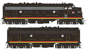 Rapido GMD FP9A/F9B True North Kansas City Southern #2, #3 Set HO Scale Diesel Locomotive #220067