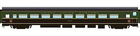 Rapido The Panorama Line(TM) Coach Assembled, Lighted, w/Micro-Trains Couplers Grand Trunk Western #4884 - N-Scale