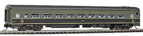 Rapido The Panorama Line(TM) Coach Assembled, Lighted, w/Micro-Trains Couplers Grand Trunk Western #4887 - N-Scale