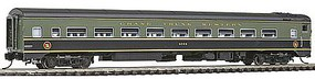 Rapido The Panorama Line(TM) Coach Assembled, Lighted, w/Micro-Trains Couplers Grand Trunk Western #4888 - N-Scale