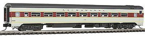 Rapido The Panorama Line(TM) Coach Assembled, Lighted, w/Micro-Trains Couplers Lackawanna #317 - N-Scale