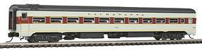 Rapido The Panorama Line(TM) Coach Assembled, Lighted, w/Micro-Trains Couplers Lackawanna #322 - N-Scale