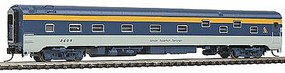 Rapido The Panorama Line(TM) Duplex Sleeper, Assembled, Lighted, Micro-Trains Coupler Chesapeake & Ohio (White Sulphur Springs) - N-Scale