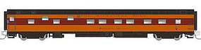 Rapido Sleeper MILW Madison River N Scale Model Train Passenger Car #501146