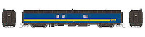 Rapido 73 Bagg-Exp VIA #9663 N Scale Model Train Passenger Car #506522
