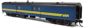 Rapido 73 Bagg-Exp VIA #9611 N Scale Model Train Passenger Car #506525