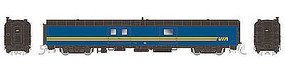 Rapido 73 Bagg-Exp VIA #9604 N Scale Model Train Passenger Car #506529