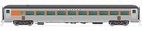 Rapido N New Haven 8600-Series Coach, NH/Red Wdw #8659