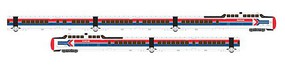 Rapido N TurboTrain w/DCC & Sound Set, AMTK/Late (5)
