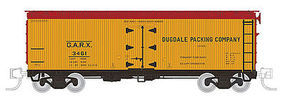 Rapido Meat Reefer GARX #2 (4) N Scale Model Train Freight Car #521012