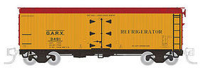 Rapido Meat Reefer GARX #1 4/ - N-Scale (4) N Scale Model Train Freight Car #521014