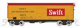 Rapido 37 GARX Meat Reefer SWI (4) N Scale Model Train Freight Car #521032