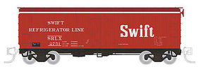 Rapido Meat Reefer SRLX #1 (4) N Scale Model Train Freight Car #521035