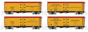 Rapido 37 Reefer 1930s-40s Pre-War N Scale Model Train Freight Car #521902