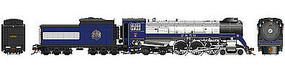 Rapido CP Class H1d 4-6-4 Royal Hudson w/Coal Tender - Sound & DCC Canadian Pacific #2850 (1939 Royal Train, blue, silver, black)