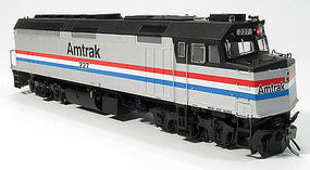 Rapido F40PH DC AMTK Ph 3 #204 HO Scale Model Train Diesel Locomotive #80039