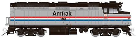 Rapido Ho AMTRAK MODERN F40PH 206 W/s
