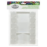 Royal-Brush Cool Art Palette (1) & Storage Cups (12) Set