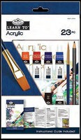 Royal-Brush Learn to Acrylic Painting Art Set (23pc)
