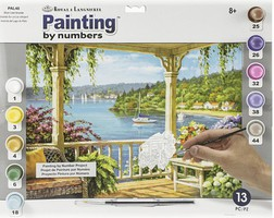 Royal-Brush Silver Lake Veranda Paint by Number Age 8+ (11.25''x15.375'')