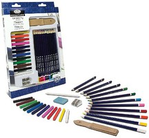 Royal-Brush Essentials Drawing Pencil Art Set (28pc)