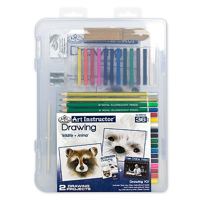 Royal Brush Manufacturing Small Drawing Clearview -- Drawing Kit -- #ais-drw3104