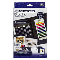 Royal-Brush Drawing Travel Set Drawing Kit #ais-kc303