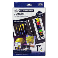 Royal-Brush Acrylic Travel Set Painting Kit #ais-kc304