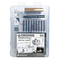 Royal-Brush Small Sketching Clearview Drawing Kit #ais-skt3105