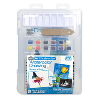 Royal-Brush Small Watercolor Pencil Clearview Painting Kit #ais-wpn3106