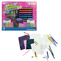 Royal-Brush Art Adventure Girls Super Value Set Drawing Kit #avs-110