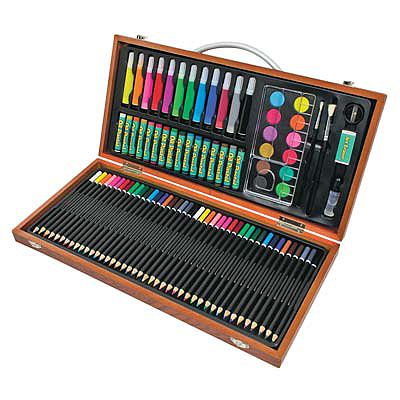 Royal Brush Manufacturing Art Adventure 89pc Set -- Art And Craft Miscellaneous -- #avs-541