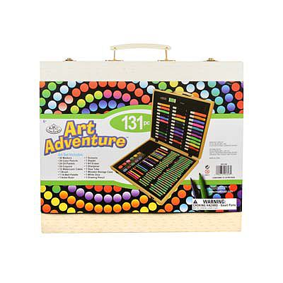 Royal Brush Manufacturing Art Adventure 131pc Set -- Art And Craft Miscellaneous -- #avs-542