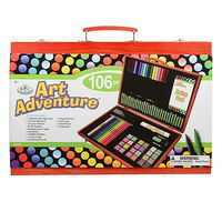 Royal-Brush Art Adventure 106pc Set Art And Craft Miscellaneous #avs-544