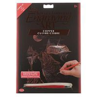 Royal-Brush Copper EA Howl Scratch Art Metal Art Kit #copf31