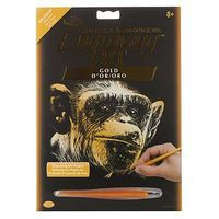 Royal-Brush Gold EA Almost Human Scratch Art Metal Art Kit #golf30