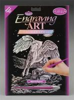 Royal-Brush Holographic Foil Engraving Pegasus Scratch Art Metal Art Kit #holo12