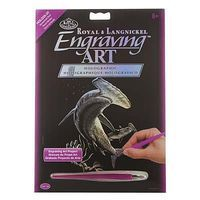Royal-Brush Holographic EA Hammerhead Shark Scratch Art Metal Art Kit #holo25