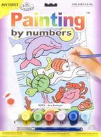 Royal-Brush My 1st PBN Sea Animals 9x12 Paint By Number Kit #mfp6