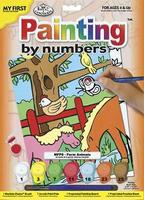 Royal-Brush My 1st PBN Farm Animal 9x12 Paint By Number Kit #mfp8