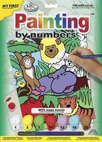 Royal-Brush My 1st PBN Jungle Animal 9x12 Paint By Number Kit #mfp9