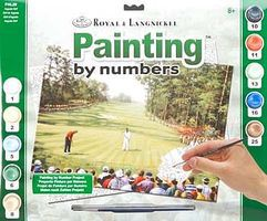 Royal-Brush Adult PBN Augusta Golf Paint By Number Kit #pal29