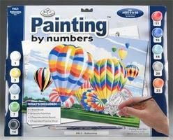 Royal-Brush PBN Ballooning 15x11-1/4 Paint By Number Kit #pal5