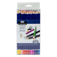 Royal-Brush 36pc Color Pencils Set Drawing Kit #pen-36