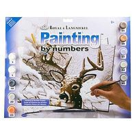 Royal-Brush PBN JR Large Dancing Snow Paint By Number Kit #pjl35
