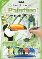 Royal-Brush Junior PBN Small Jungle Toucan Paint By Number Kit #pjs53