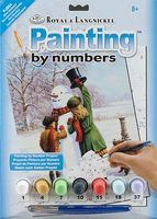 Royal-Brush Junior PBN Small Winter Wonderland Paint By Number Kit #pjs54